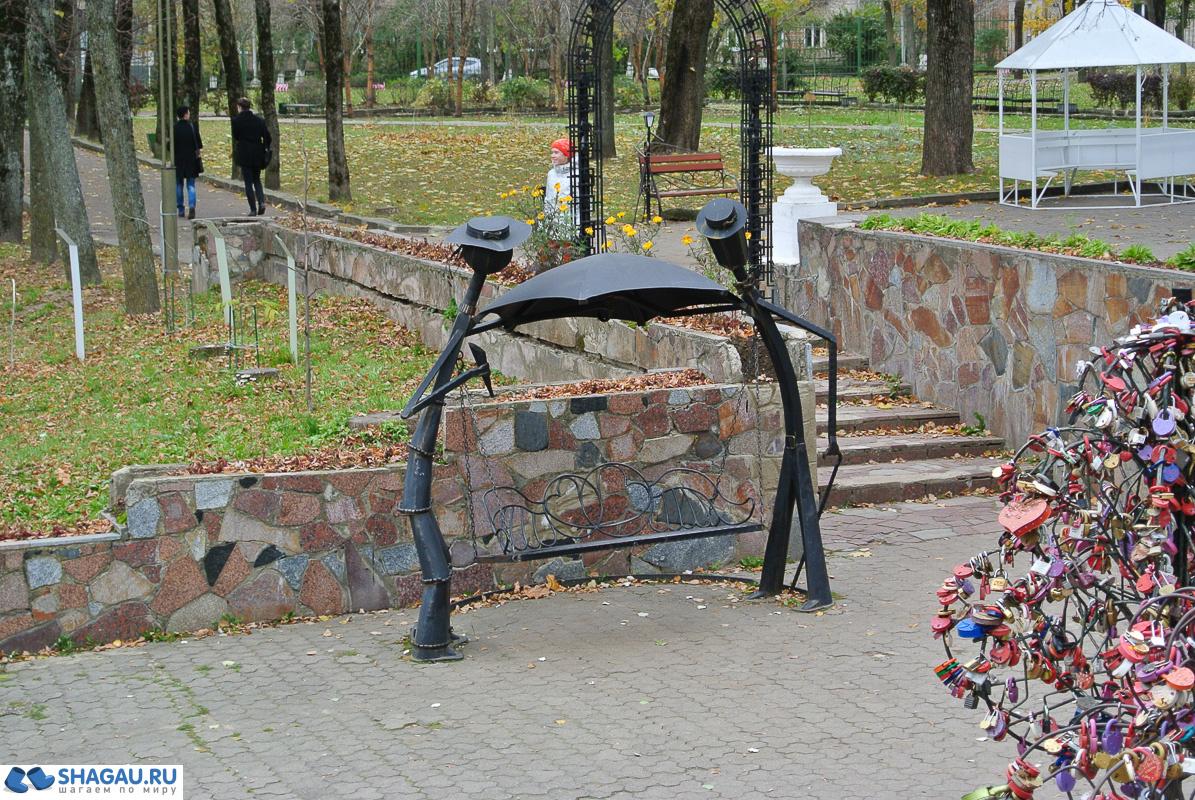 Арт объекты парка