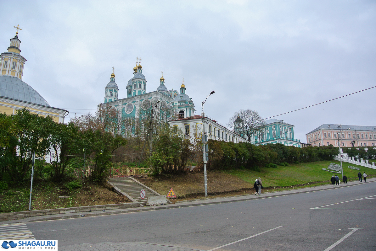 Смоленск. Соборная гора