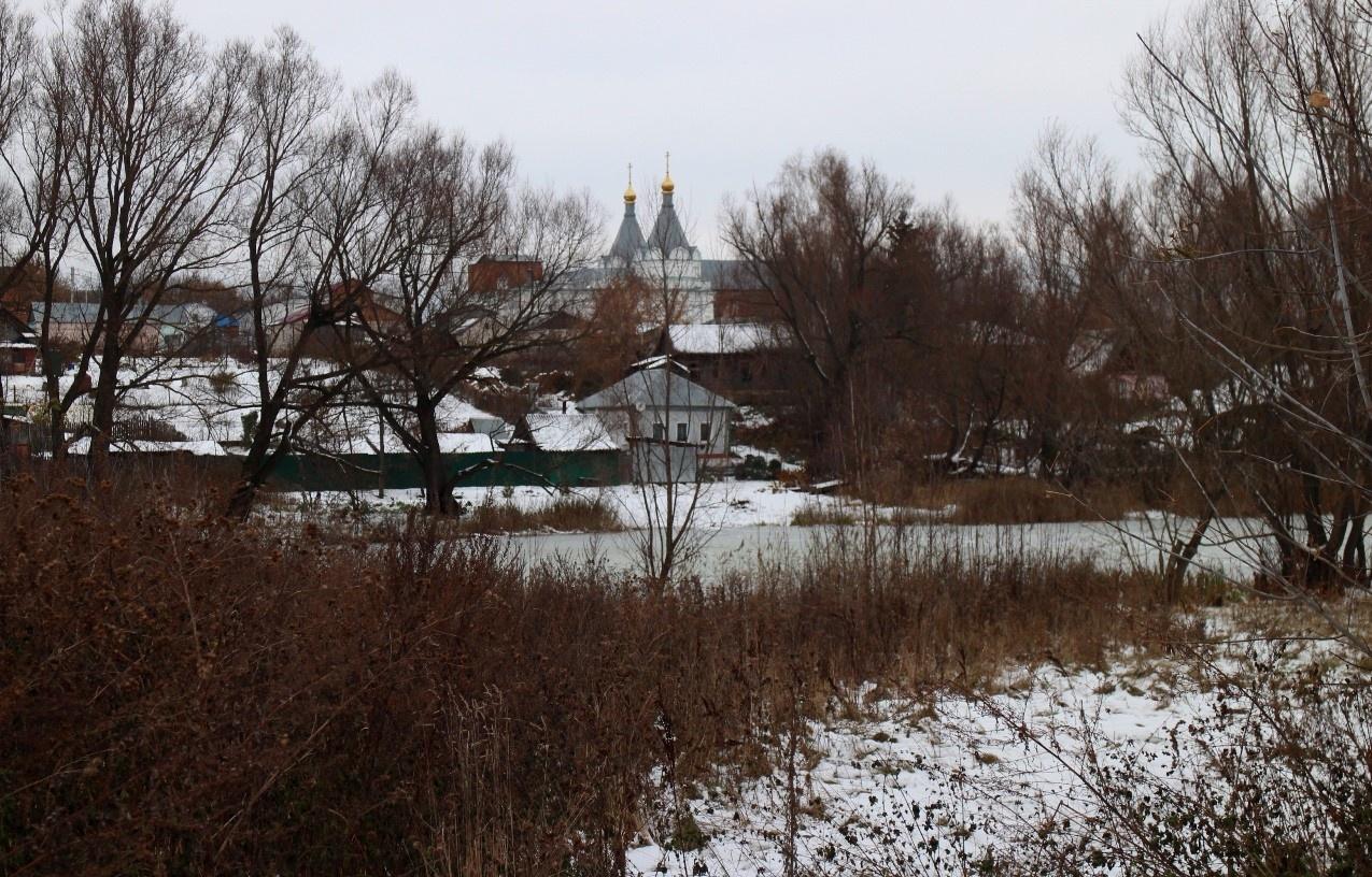 Достопримечательности районного центра Сапожок в Рязанской области.