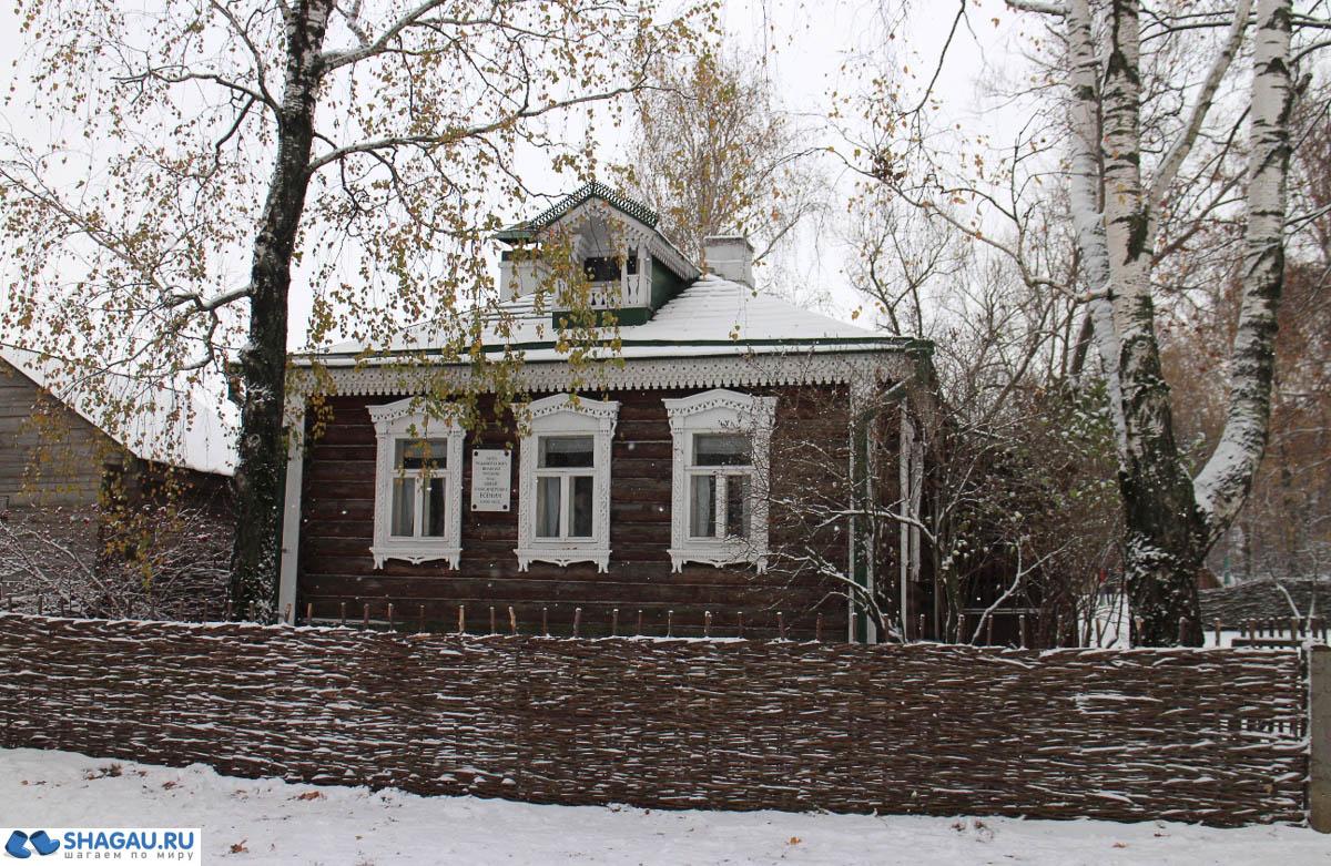 дом родителей Есенина