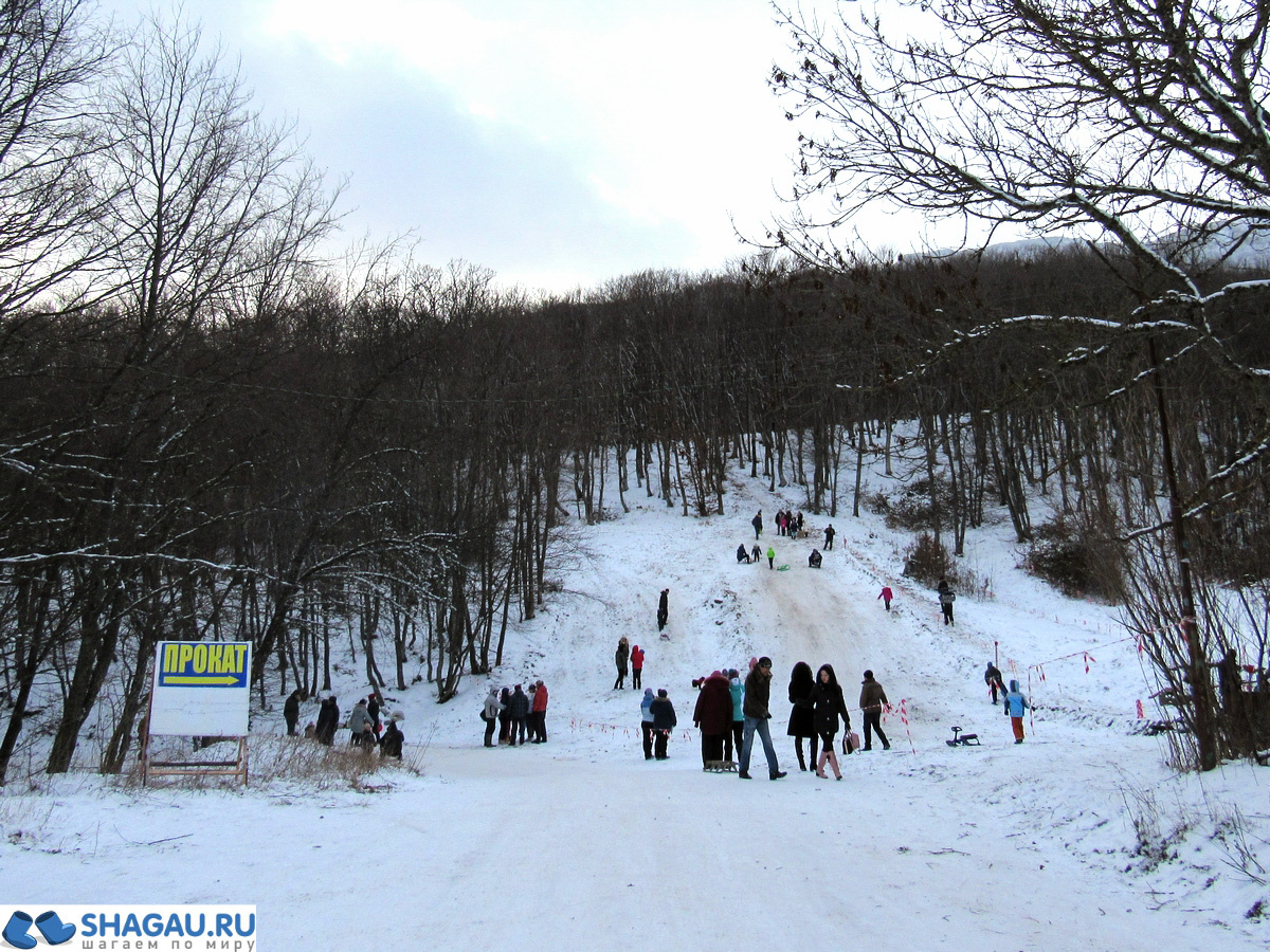 Зимние развлечения в Крыму