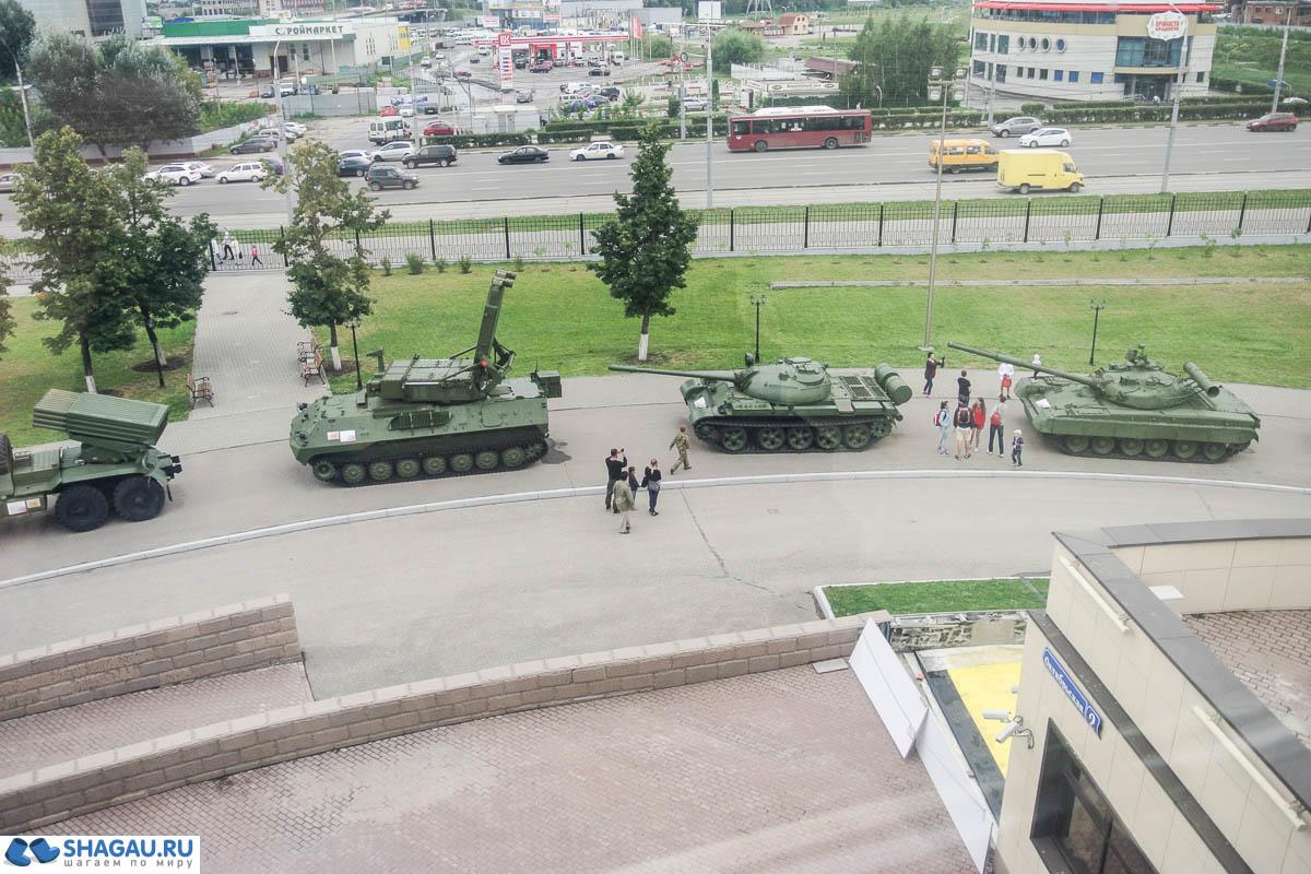 выставка российской военной техники
