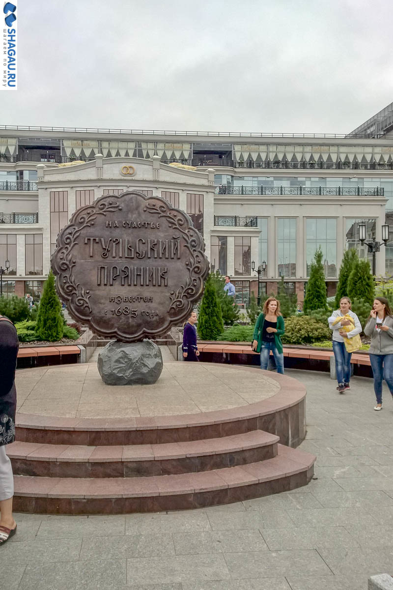 Тульский пряник на Площади Ленина