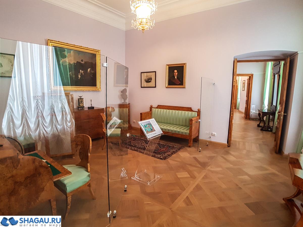 Жилые комнаты Гатчинского дворца