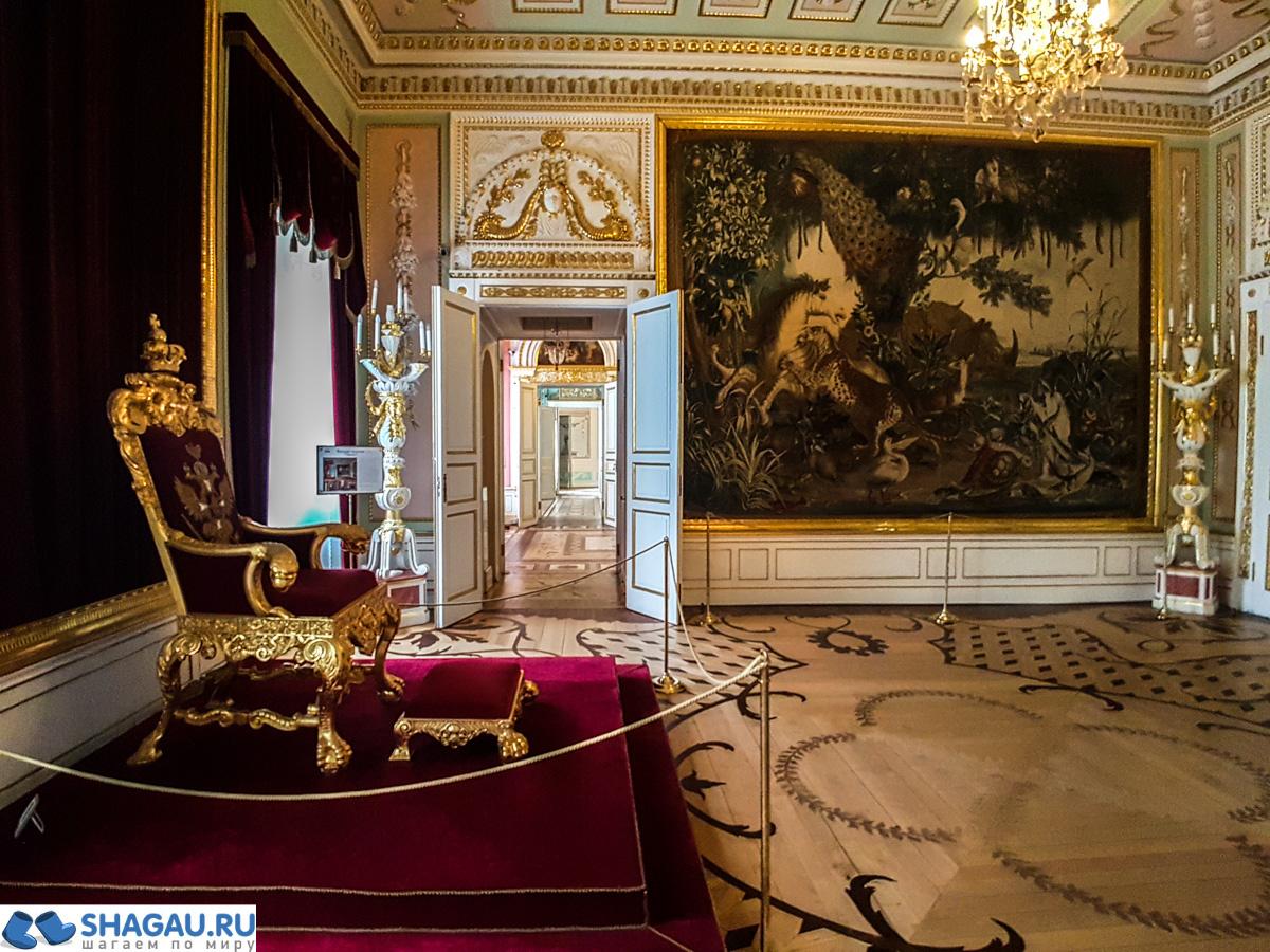 Анфилада парадных залов в Гатчинском дворце