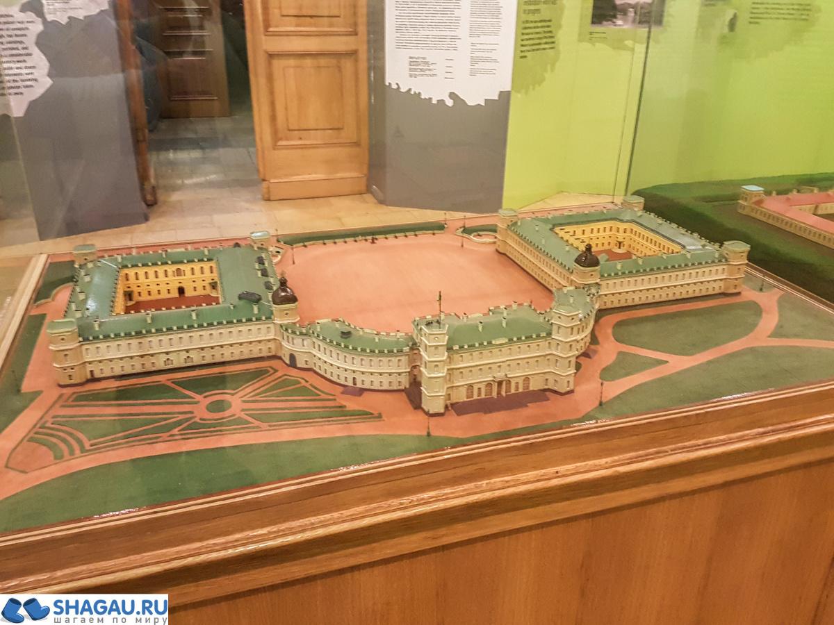 Гатчинский дворец после перестройки
