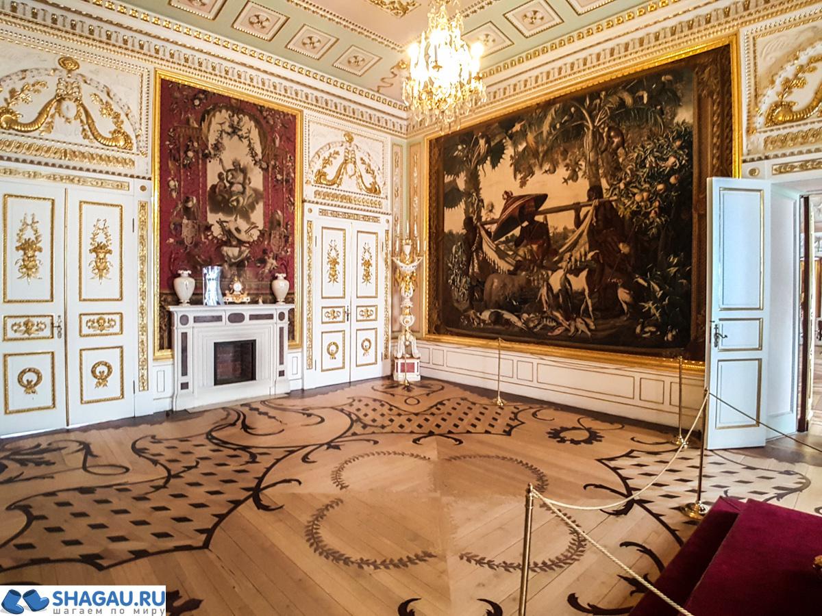 Верхний тронный зал Гатчинского дворца