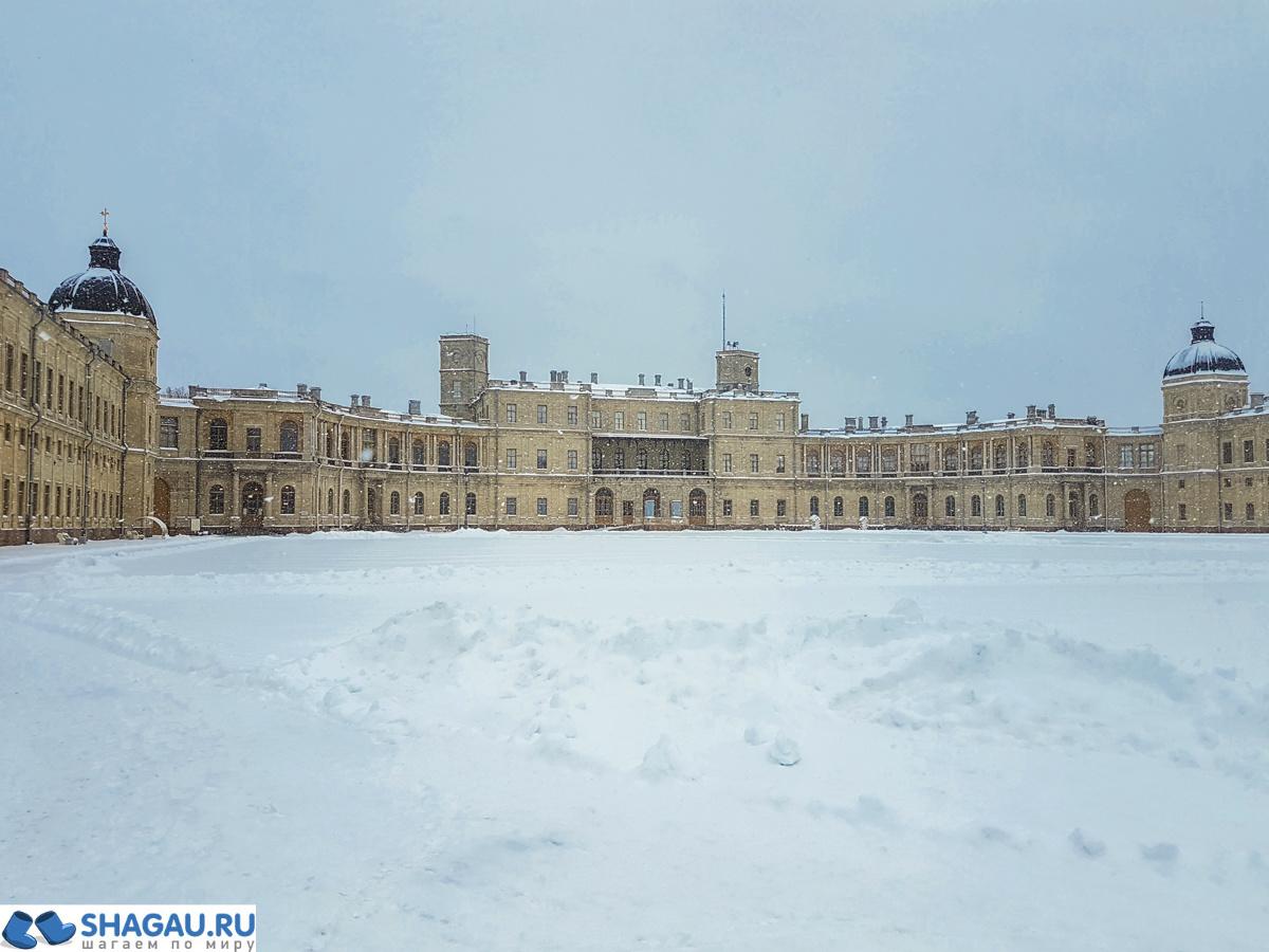Фасад Гатчинского дворца