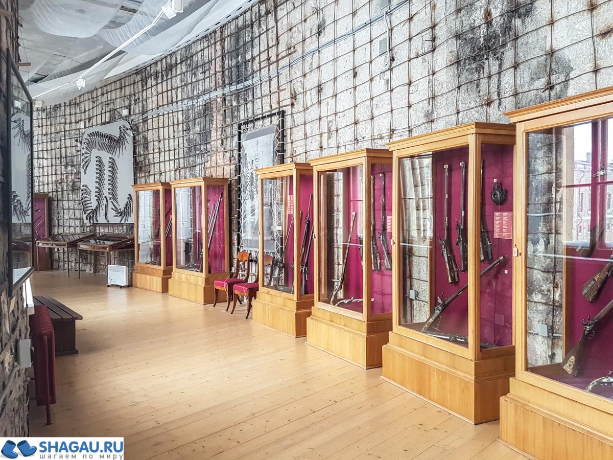 Выставка оружия в Гатчинском дворце
