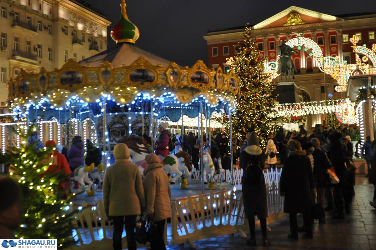 Москва Новогодняя 2016=2017