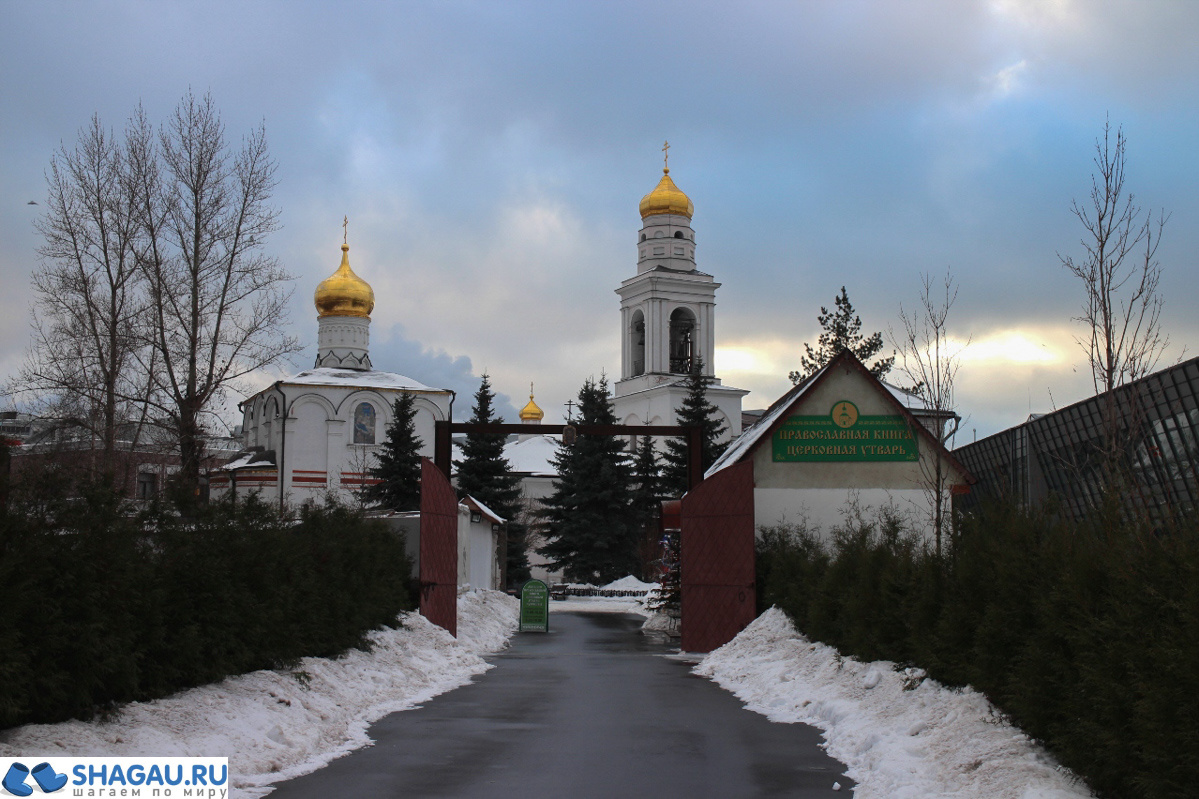 Симонов монастырь в Москве