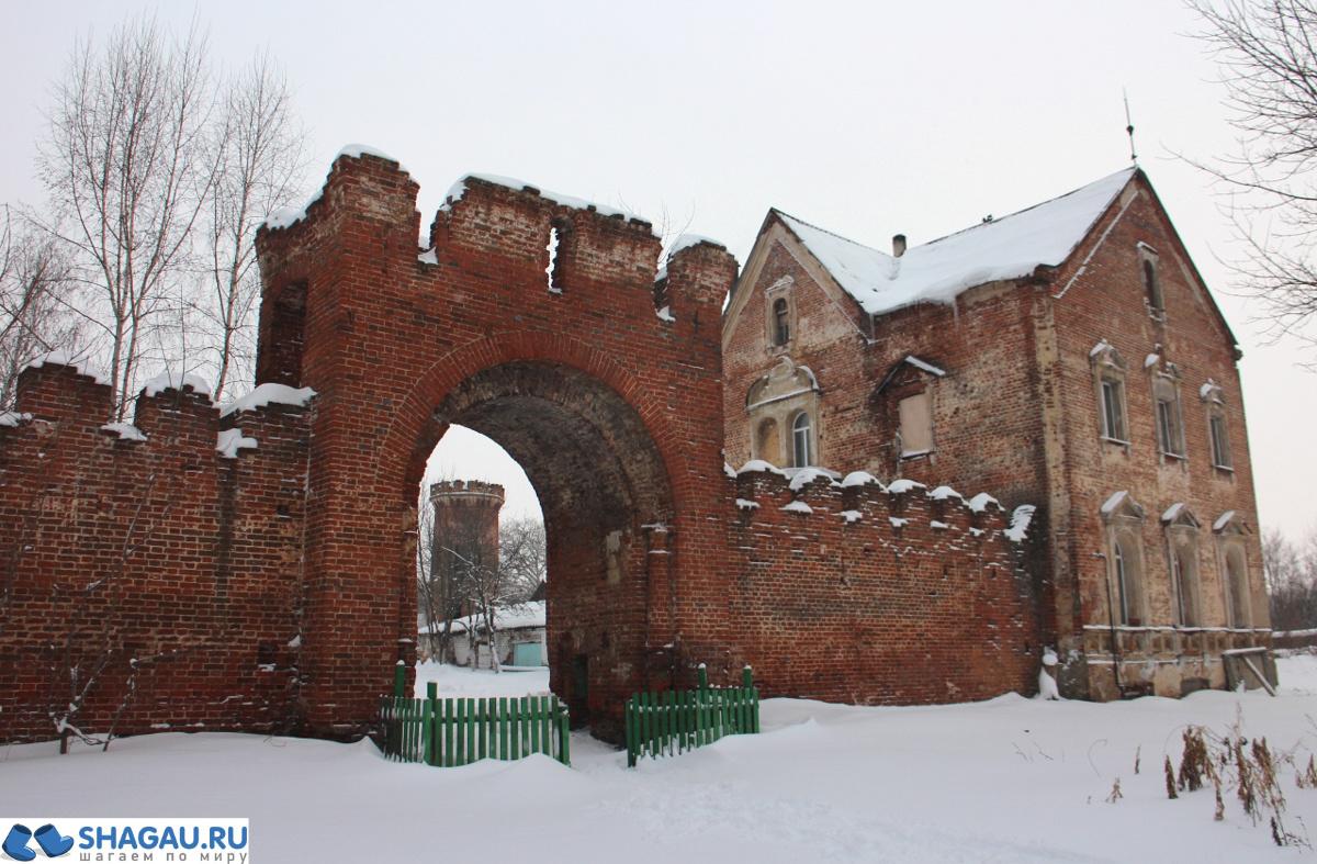 Усадьба Большая Алешня в Ряжском районе