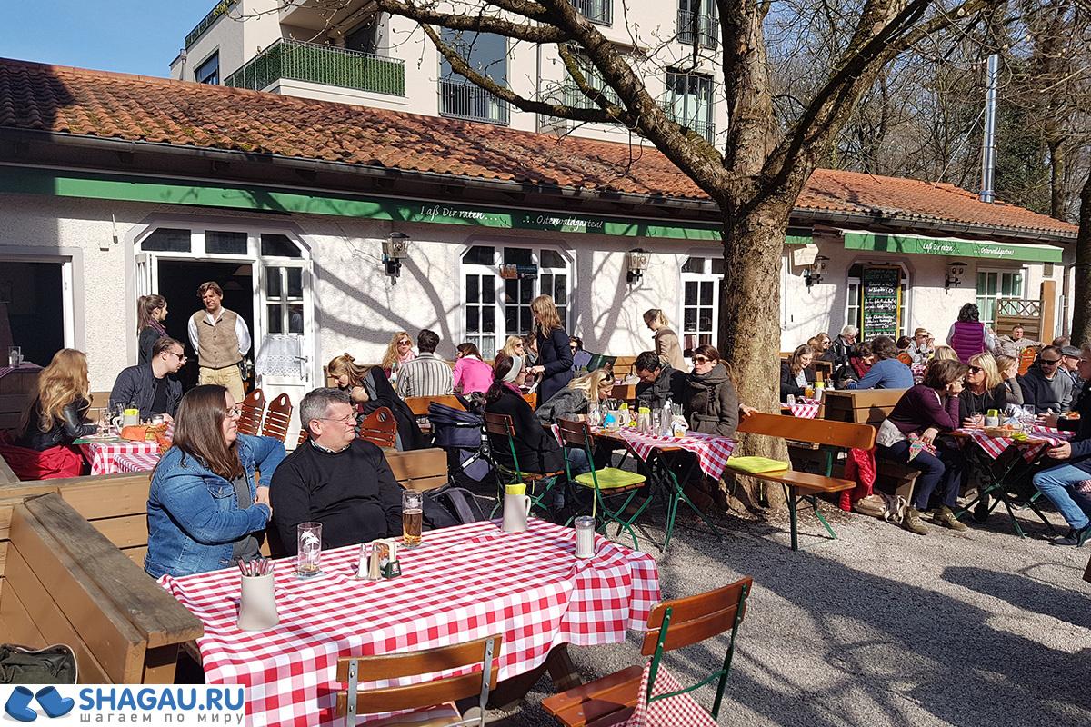 Ресторанчик в Мюнхене