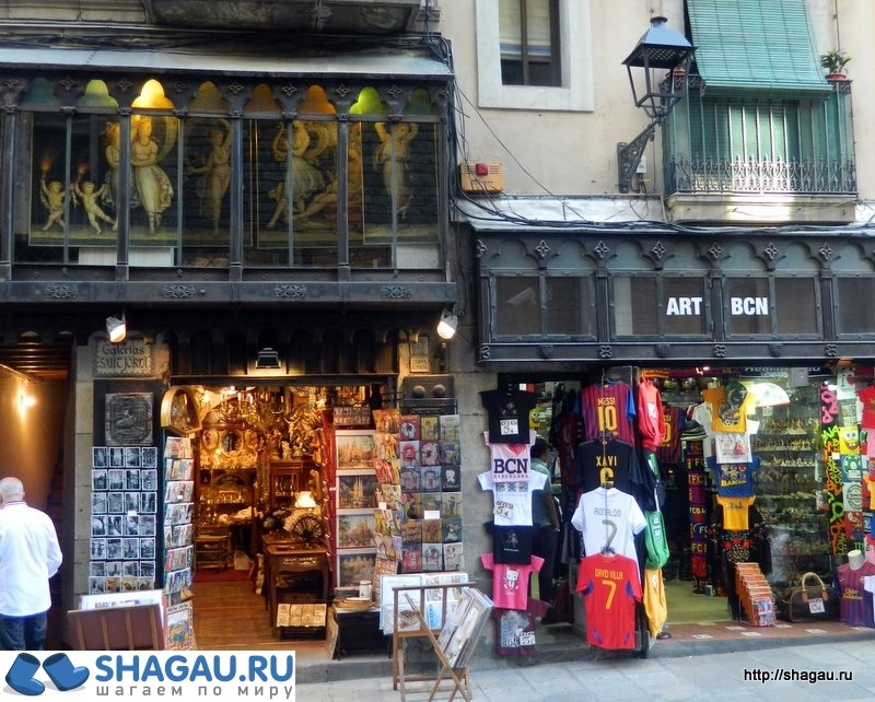 Шопинг в Барселоне: обзор, скидки, адреса магазинов фотография 1