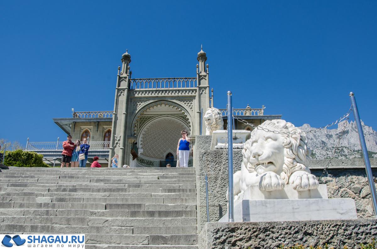 воронцовская лестница со львами