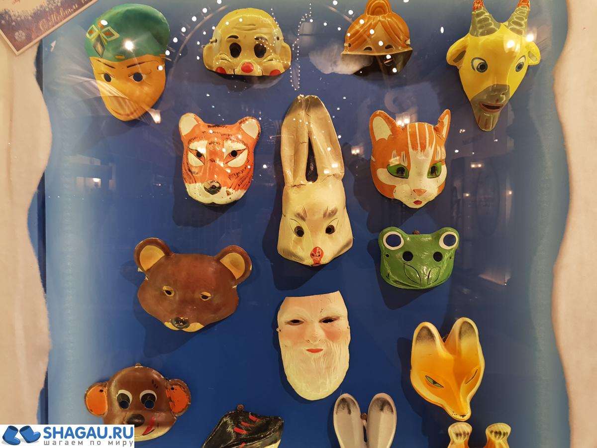 Советские новогодние маски