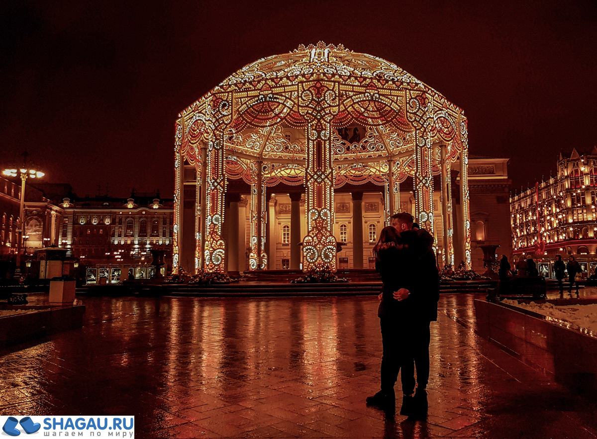 Новогодний Большой театр