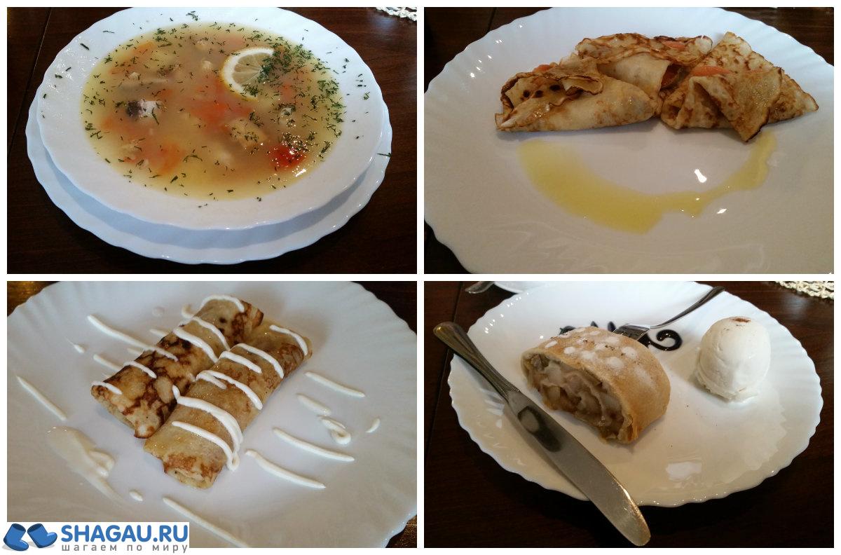 Обед в Городце