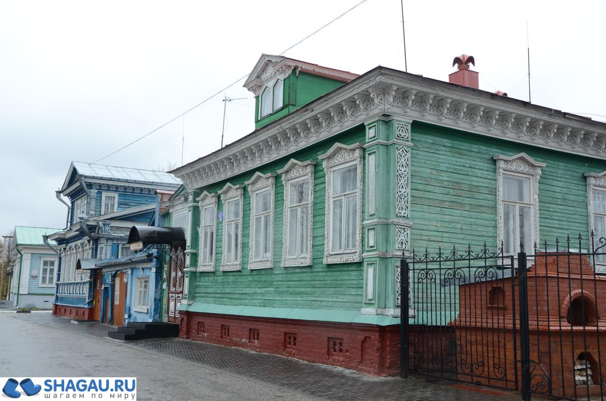 Купеческие дома в Городце