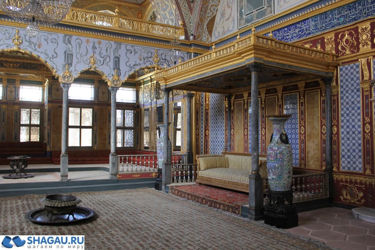 дворец топкапы фото комната любимой жены султана там