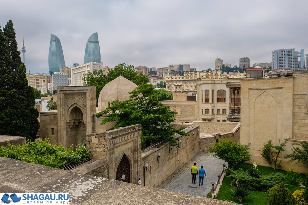 Старывй город Баку